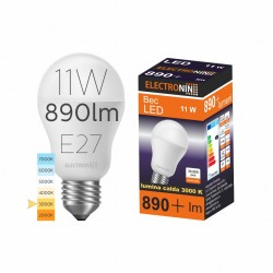 BEC LED NORMAL 11W A60 560LM 3000K E27